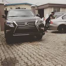 purple lexus rapper reminisce shows off his brand new 2017 lexus jeep