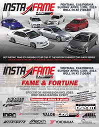 jdm car show jdm chemicals instafame car show april 13th at fontana who u0027s