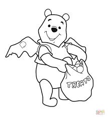 halloween winnie pooh coloring free printable coloring