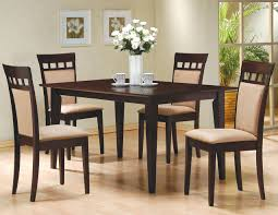 Coaster Dining Room Chairs Coaster Mix And Match Cappuccino Cushion Back Side Chairs Set Of