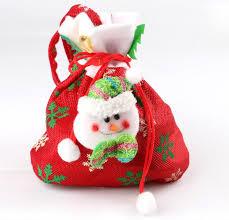 handmade christmas creative santa claus snowman christmas tree elk gift bags of