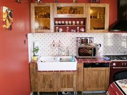cuisine bois rustique meubles de cuisine en chêne rustique et teck le du bois