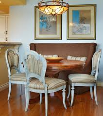 curved settee for round dining table 16 interior design ideas