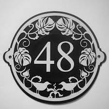 art nouveau house numbers house and home design