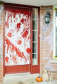 Door Decorations For Halloween Backyards Best Halloween Door Decorations For Zombie Windows Diy