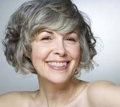 medium curly gray hair short hairstyles women over 50 hair