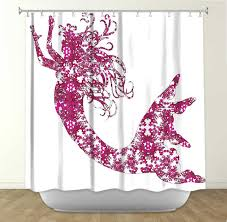 silhouette mermaid shower curtain curtains collection silhouette mermaid shower curtain