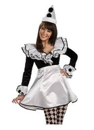 Clowns Halloween Costumes Put Sassy Evil Spin Classic Clown Costume