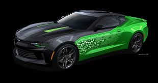 camaro 2015 concept 2016 chevrolet camaro krypton concept sema 2015 gm authority