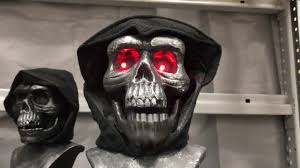 halloween 2017 holiday living animatronic pre lit reaper tabletop