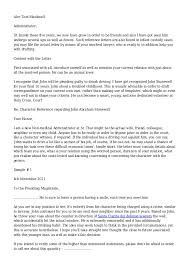 awesome collection of character reference letter friend court with