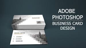 Easy Business Card Design How To Create Business Card Design In Photoshop Front Back