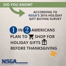 Is Sporting Goods Open On Thanksgiving Nsga Shopper Survey