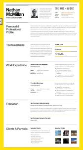 Word 2007 Resume Templates Resume Format Free Download In Ms Word 2007 Layout Template