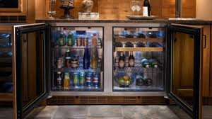 under cabinet beverage refrigerator undercounter refrigerators the new must have in modern kitchens