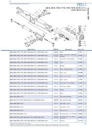 ford new holland 10 u0026 30 series repair manual tractor