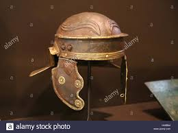 galea the roman soldier u0027s helmet centurion roman hispania stock