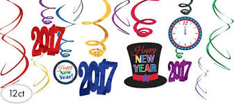 New Years Decorations Clipart by Colorful New Year U0027s Eve Decorations Party City
