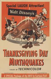 walt disney s thanksgiving day mirthquakes posters from