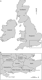 Map Of Kent England by Figure1 Map Jpeg