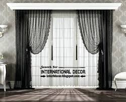 Black Grey And White Curtains Ideas Black Modern Curtains Best Modern Curtain Designs Curtain Ideas