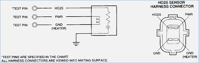 2006 mazda 3 upstream o2 sensor harness wire diagram
