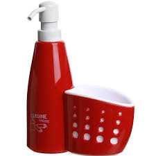 eponge cuisine distributeur de savon pour cuisine avec porte éponge