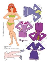 scooby doo wrapping paper miss paper dolls scooby doo paper dolls and velma