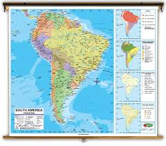 america map political advanced classroom maps from kappa maps