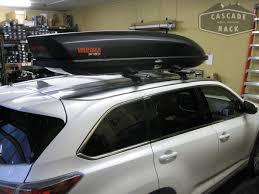 box car toyota cascade rack base rack and cargo box installation 2015 toyota