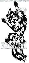 best 25 tribal wolf tattoos ideas on pinterest tribal wolf