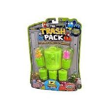 amazon trash pack 12 trashies cans includes 2 glowing