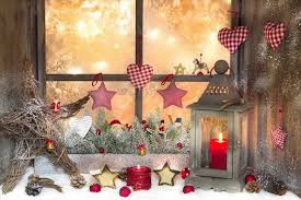 Christmas Window Decorations Photos by