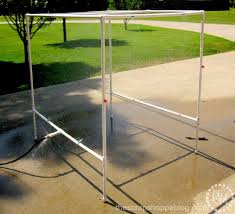 Homemade Outdoor Misting System by Best Pvc Pipe Car Wash Tutorial The Scrap Shoppe