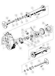 transaxle gasoline differential u0026 axles club car parts