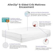 Mattress Crib Protect A Bed Allerzip 6 Sided Waterproof Mattress Or Box