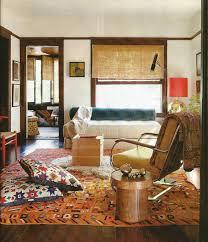 Hippie Home Decor Hippie Room Decor With Unique Fullcolor Carpet And Table Log Ideas