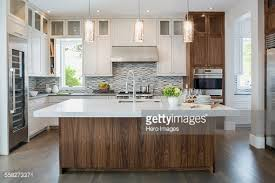 modern pendant lighting for kitchen island pendant lights modern white kitchen island stock photo inside