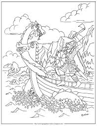 green onion coloring page cool pages plants printable viking horns