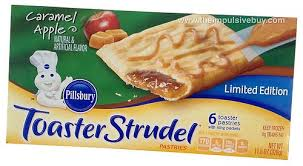 Toaster Strudle Quick Review Limited Edition Pillsbury Caramel Apple Toaster