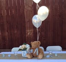 teddy centerpieces for baby shower theme shower table decor baby shower bears