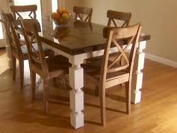 Dining Table Pics How To Build A Dining Table From An Door And Posts Hgtv