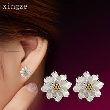 s hypoallergenic earrings aliexpress buy high quality silver plated stud earrings warm