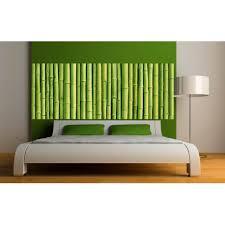 deco chambre bambou stickers tête de lit déco chambre bambous stickers muraux deco