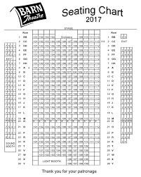 Red Rocks Seat Map Barn Theatre For Advanced Theatre Training Barn Theatre