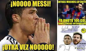 Memes De Lionel Messi - los memes de este mi礬rcoles en la chions con messi y cristiano