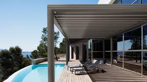 photos de verandas modernes veranda moderne espace vie terrasse bois sur pilotis ideales pour