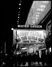 Winter Garden Theater Broadway - original vintage fine art photographs by ray simone