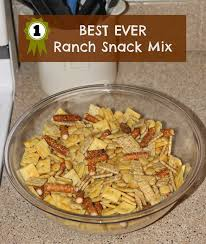 best ever ranch snack mix sometimes homemade
