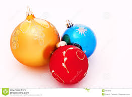tree decorations balls stock photo image 1319910
